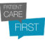 Image With Patient Care First Written On A Grey And Blue Speech Bubble